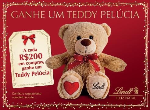 Lindt Feliz Natal Teddy